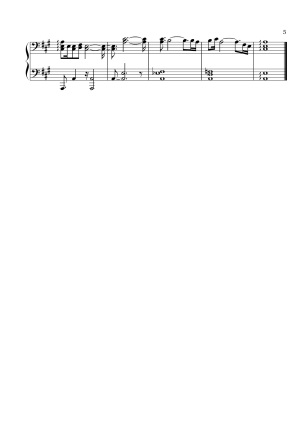 The Reign of Kindo - City Lights & Traffic Sounds | Sheet Music Page 5 (Thumbnail)